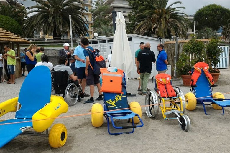 Spiagge accessibili in Liguria